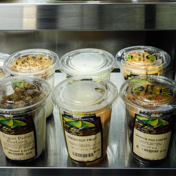 Healthy food cups in Greenville, Spartanburg, and Anderson, South Carolina