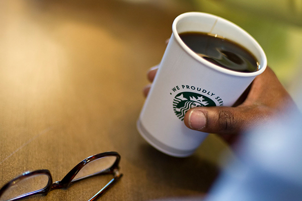 Starbucks coffee in Greenville, Spartanburg, and Anderson, South Carolina