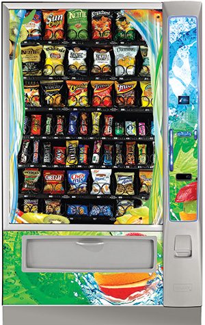 Healthy Vending Machines Throughout Greenville, Spartanburg, and Anderson, South Carolina