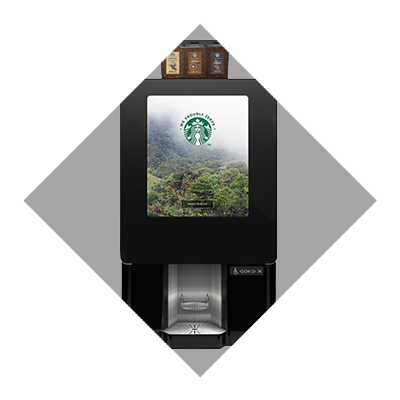 Starbucks bean to cup coffee brewer
